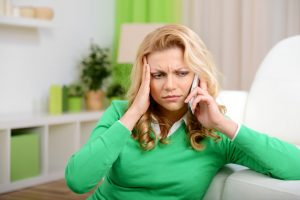 Woman Distressed By Latest Debt Collection Tactics