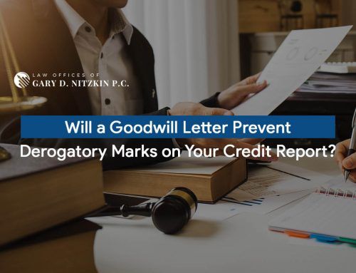 Will a Goodwill Letter Prevent Derogatory Marks on Your Credit Report?